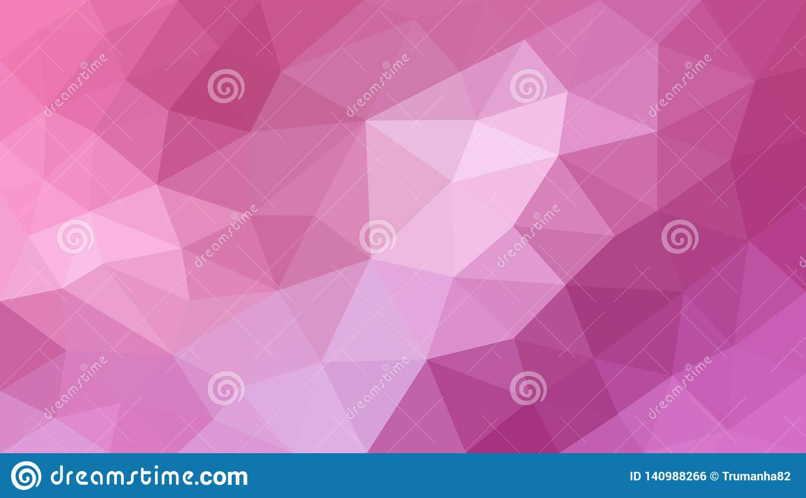 Pink Polygonal Texture for Abstract Background