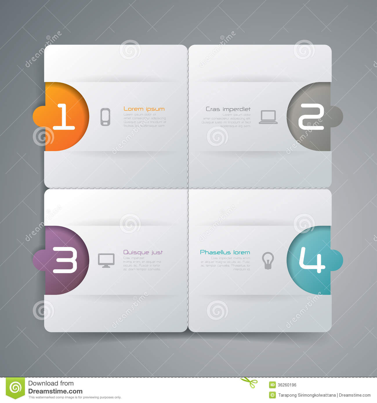 information paper template