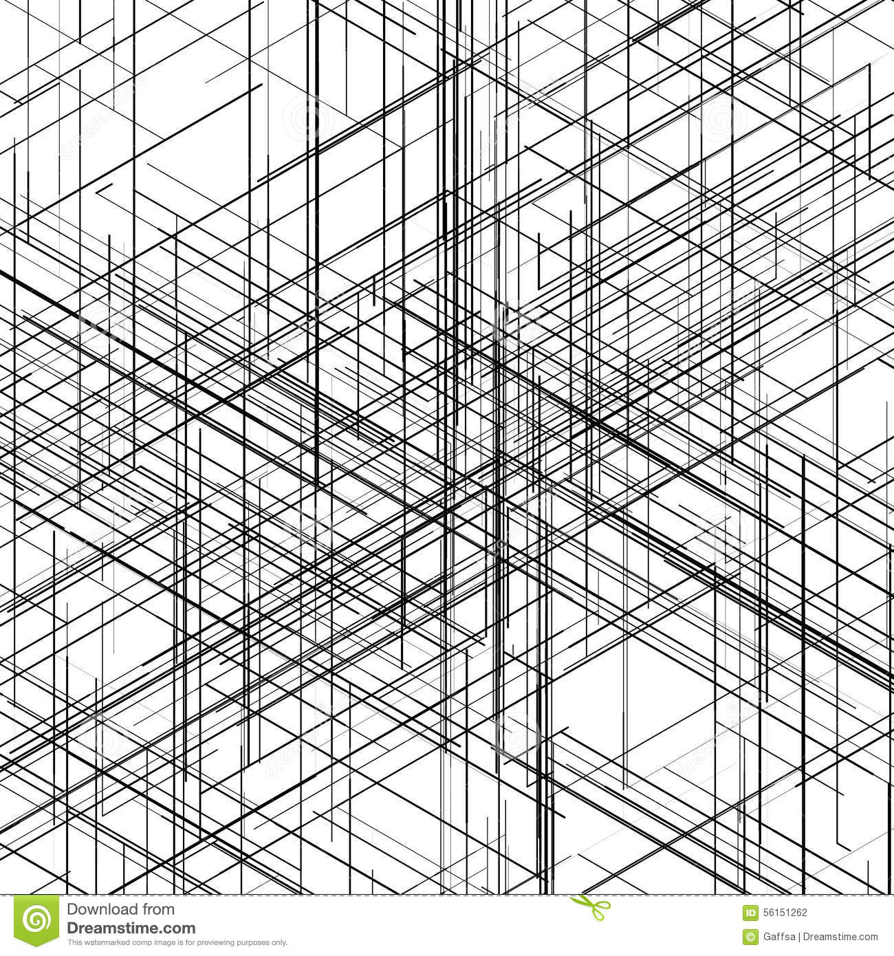 Abstract isometric computer generated 3d blueprint stock abstract isometric hexagonal computer generated 3d blueprint visualization lines background vector illustration for break through in technology malvernweather Gallery
