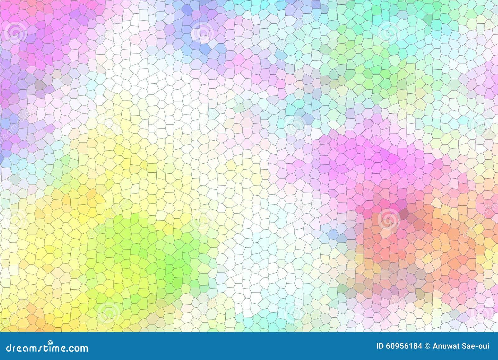 Abstract kleurrijk gebrandschilderd glas