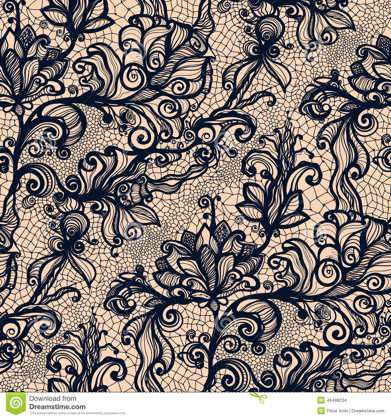 Abstract lace ribbon vertical seamless pattern stock for Design finder