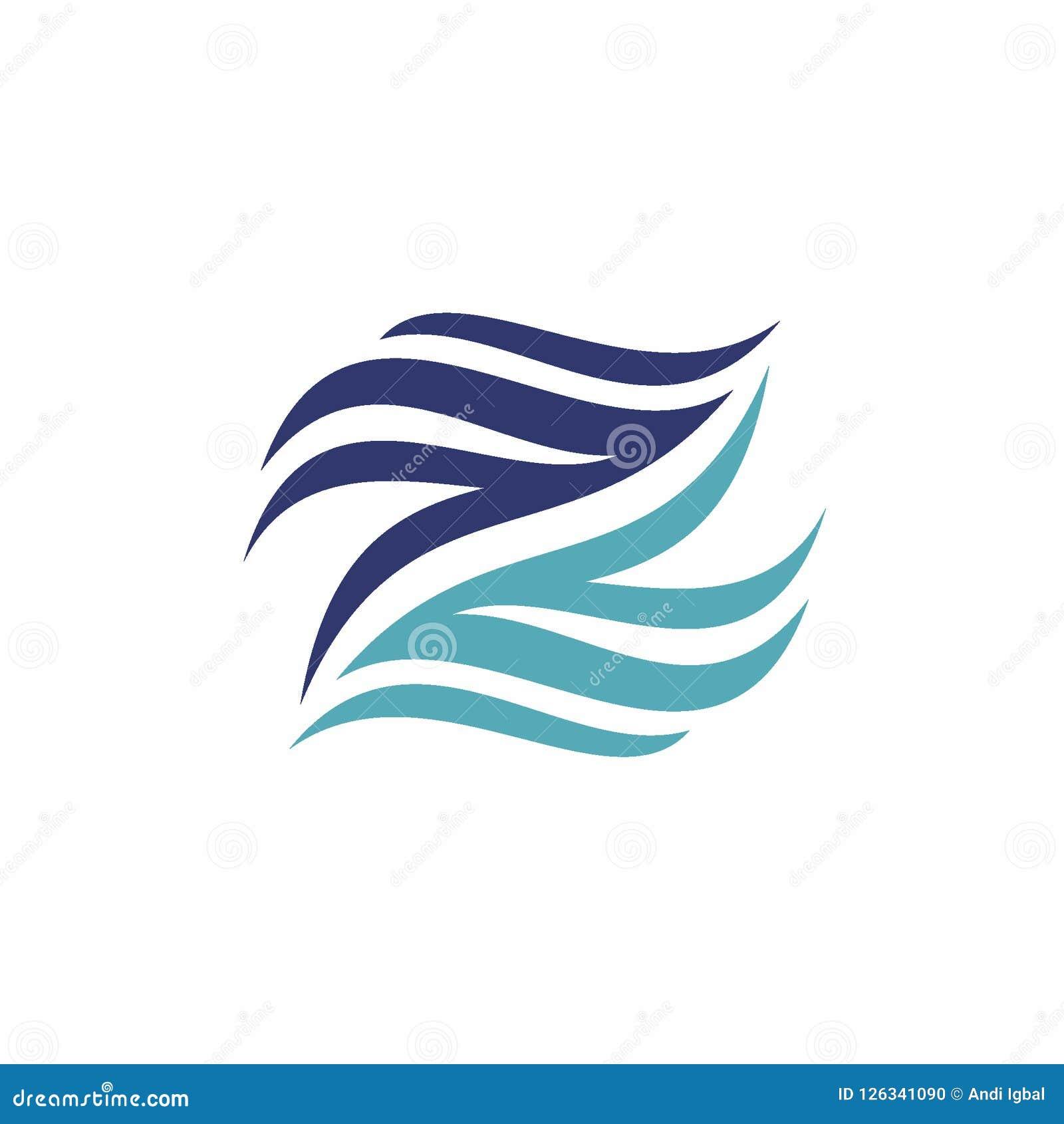 Abstract Letter Z Or N Logo Design Concept Creative Logo Vector