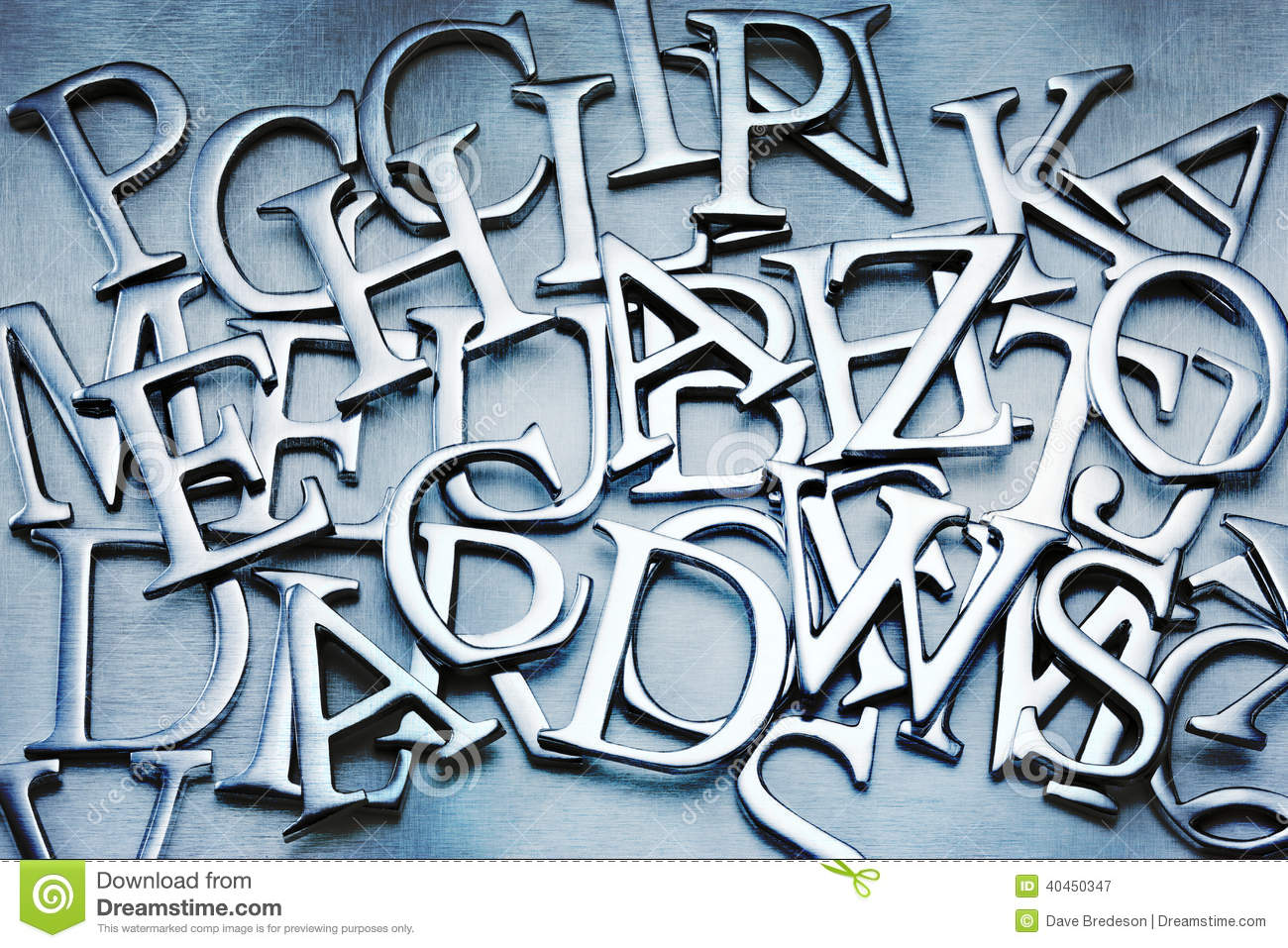 Abstract Letters Alphabet Background