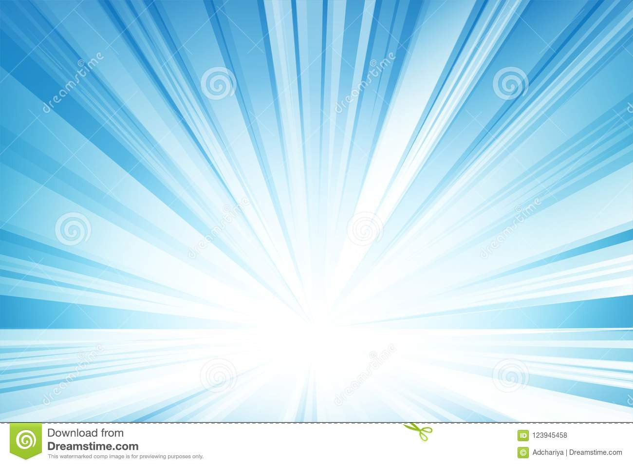 Abstract Light Blue Background, Vector And Illustration  Stock