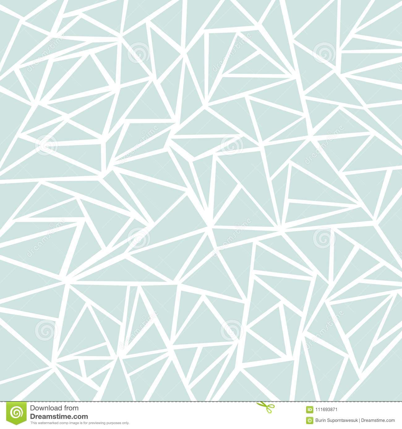 Abstract Light Blue Or Gray Geometric And Triangle Patterns