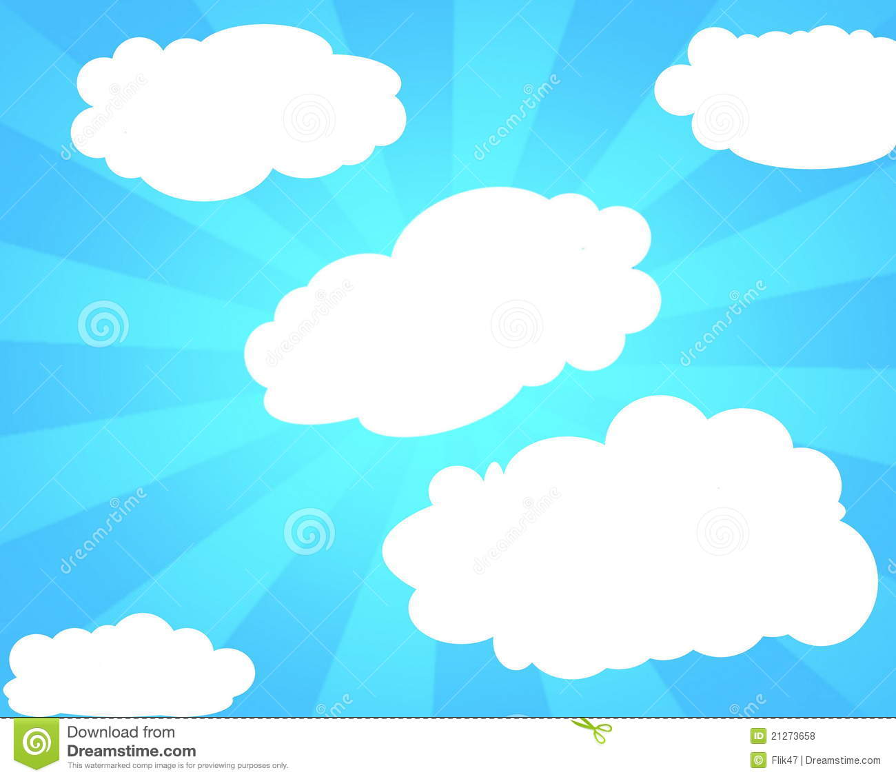 Abstract Light Blue Sky Background Cartoon Vector ...