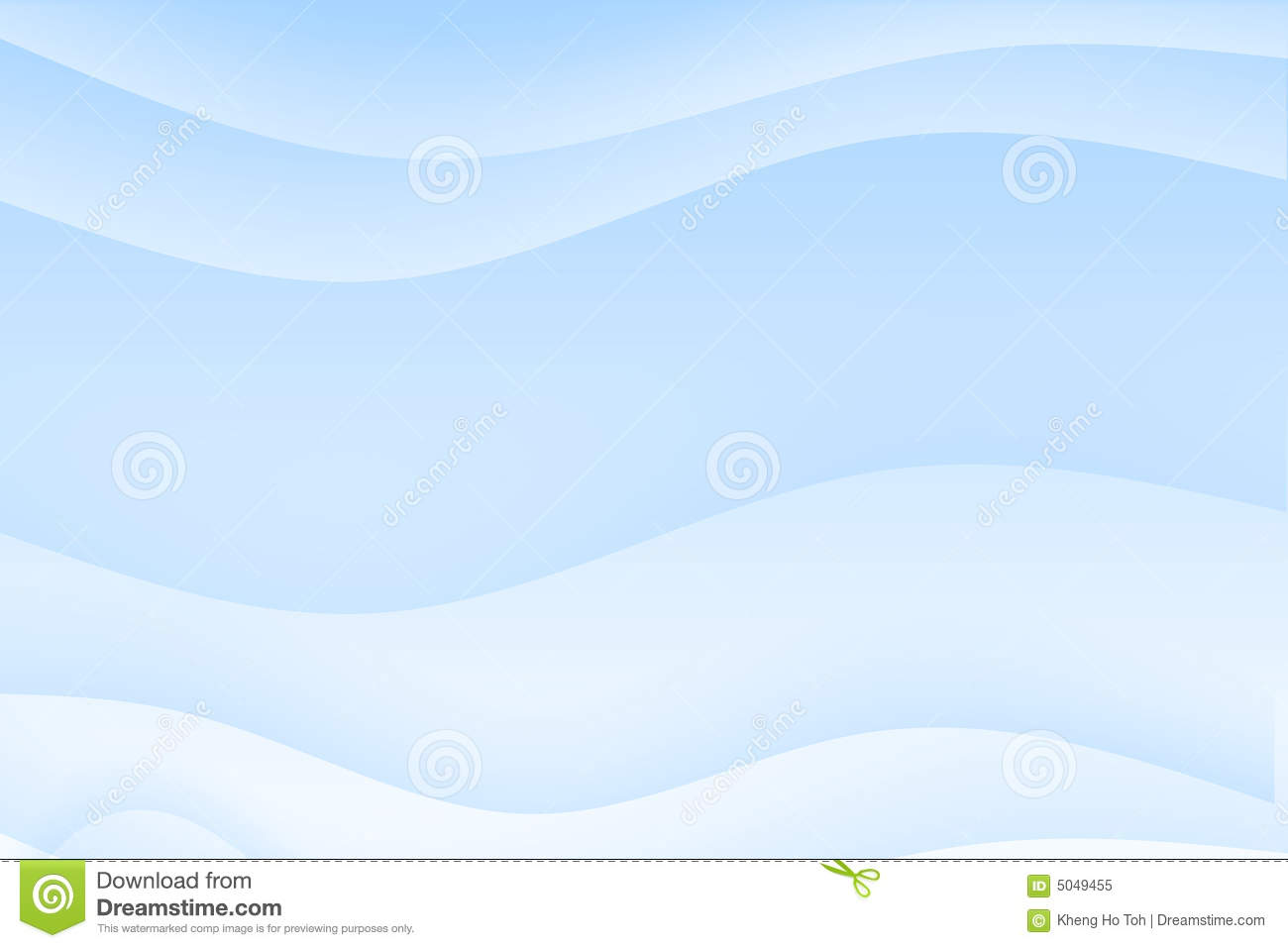 Abstract light blue wavy soothing background