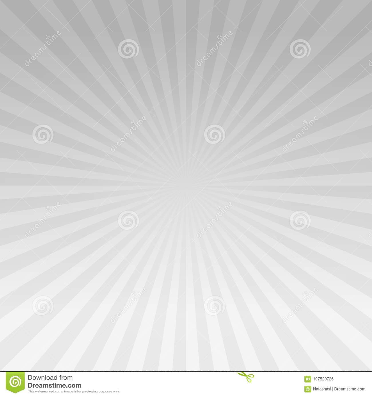 e49014adf2 Abstract Light Gray Gradient Rays Background. Vector EPS 10 Cmyk ...