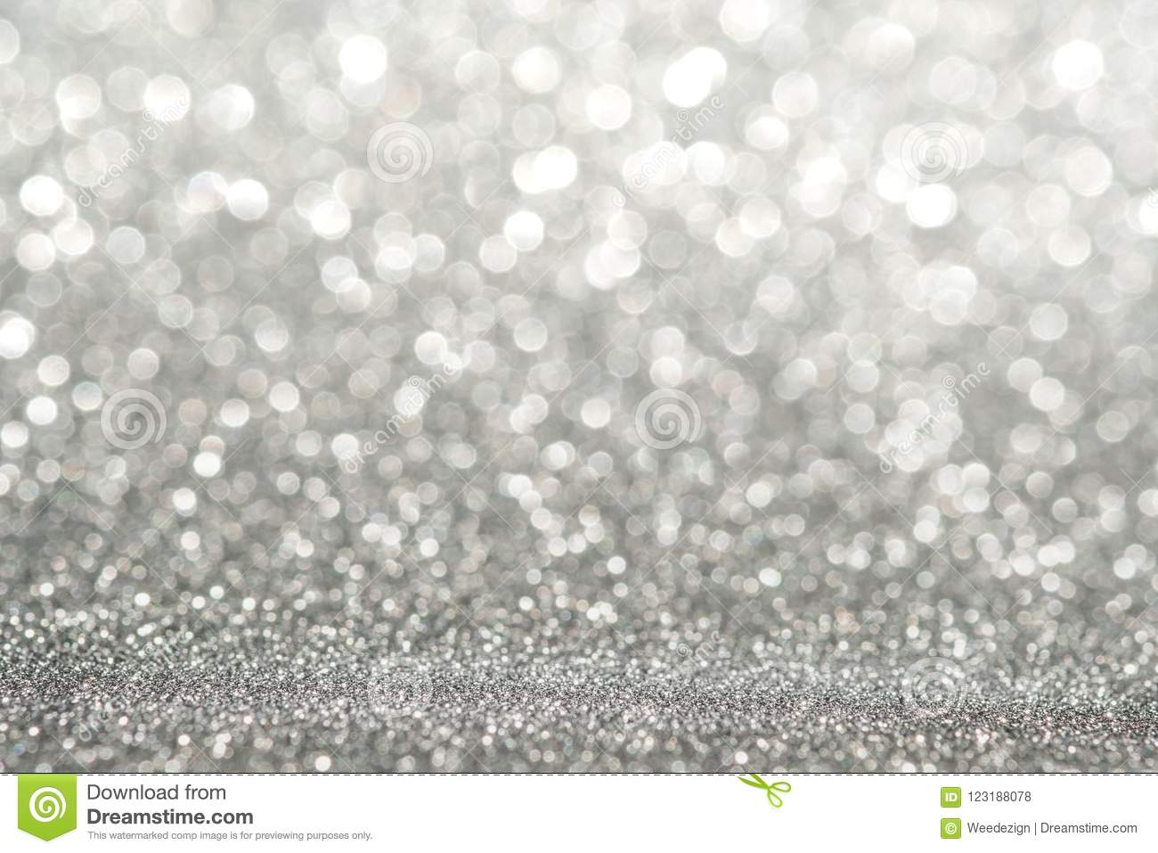 Abstract light silver sparkling glitter wall Abstract light silver sparkling glitter wall and floor perspective background studio
