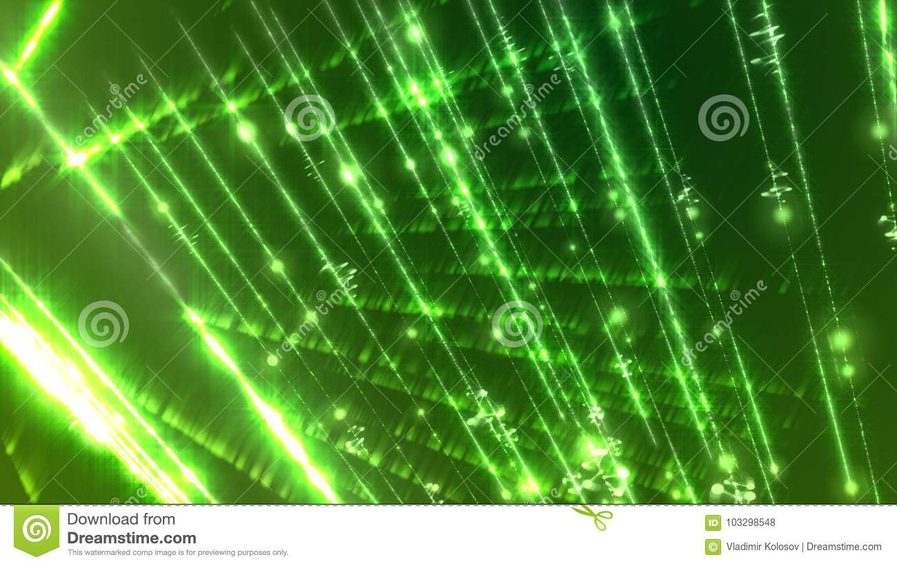 Abstract Light Sparkling Background
