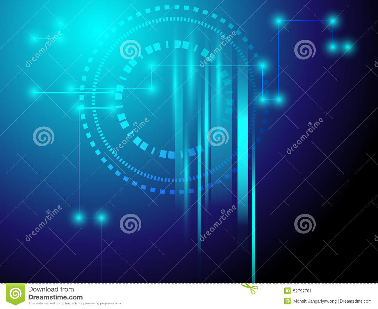 abstract line background with technology concept vector backgr stock