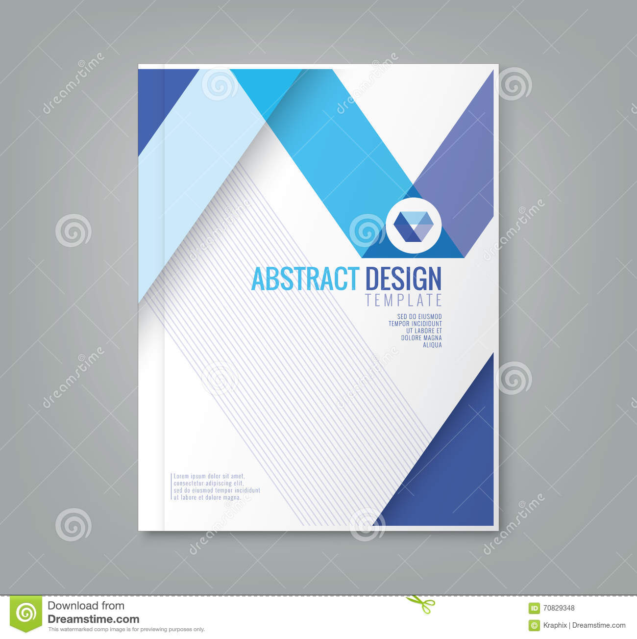 Book Cover Design Hd : Abstract line design background template for business