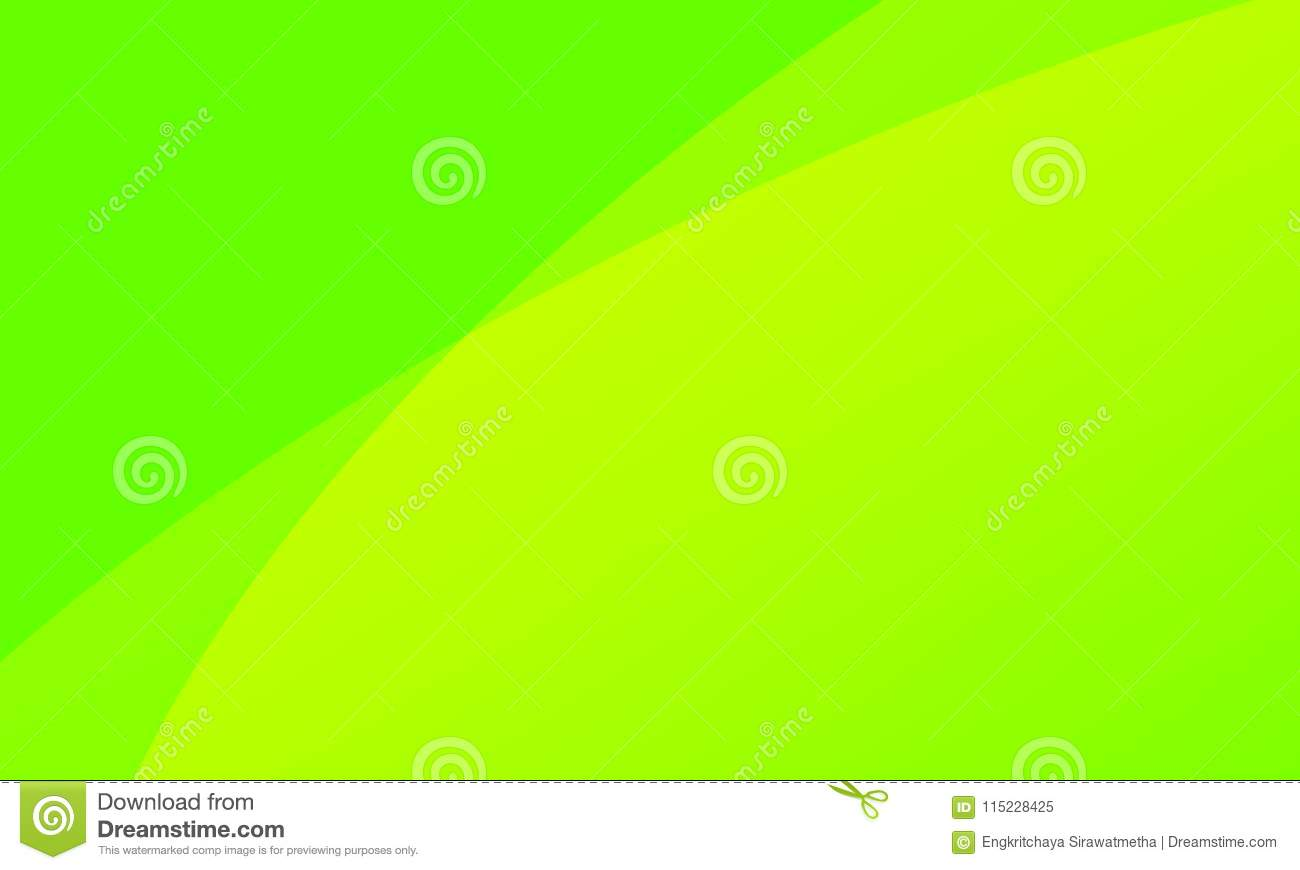 Abstract Line Light Green With Yellow Color Background Or Fresh ...