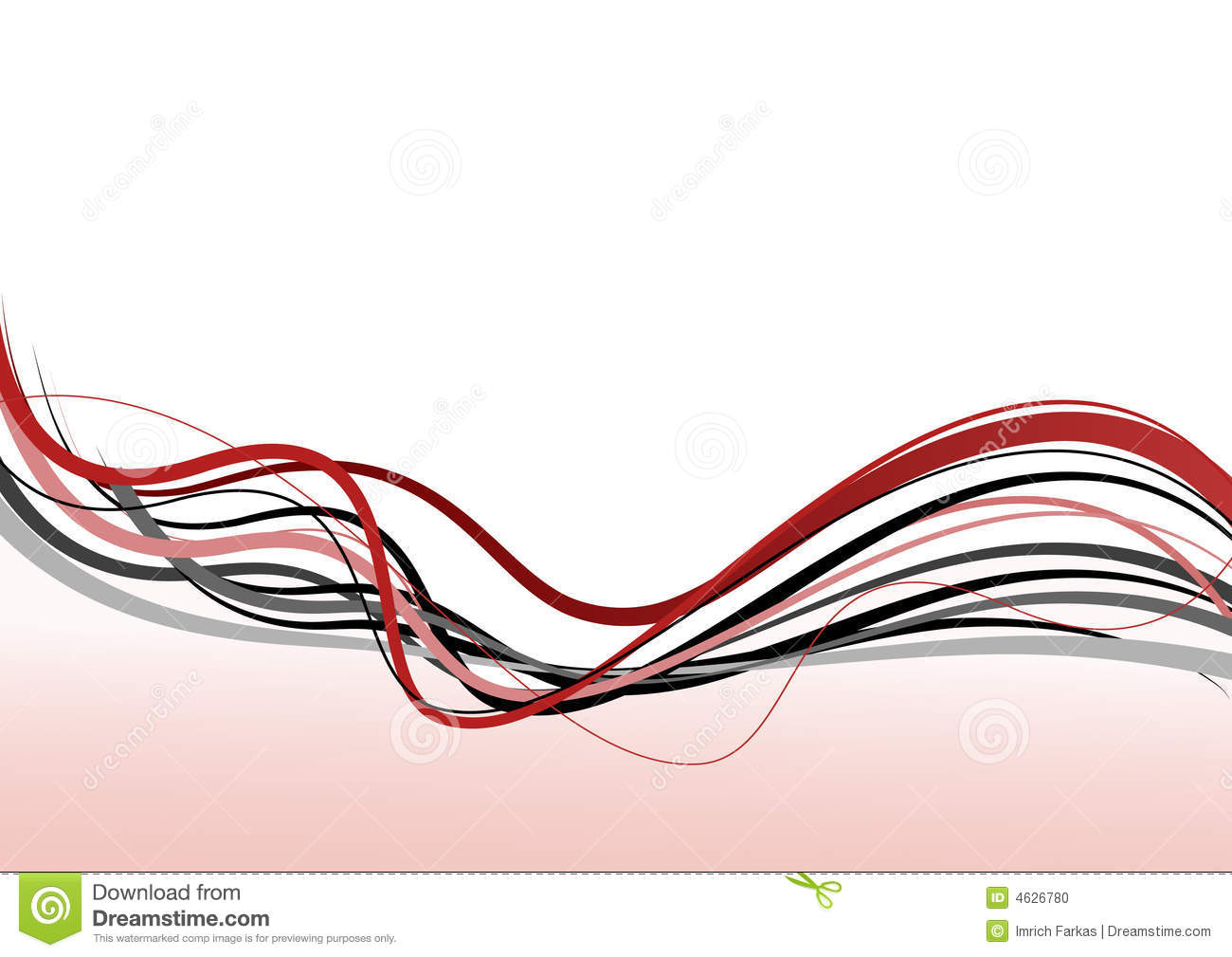 Line Drawing Vector Graphics : Abstract lines vector art stock image of ornament