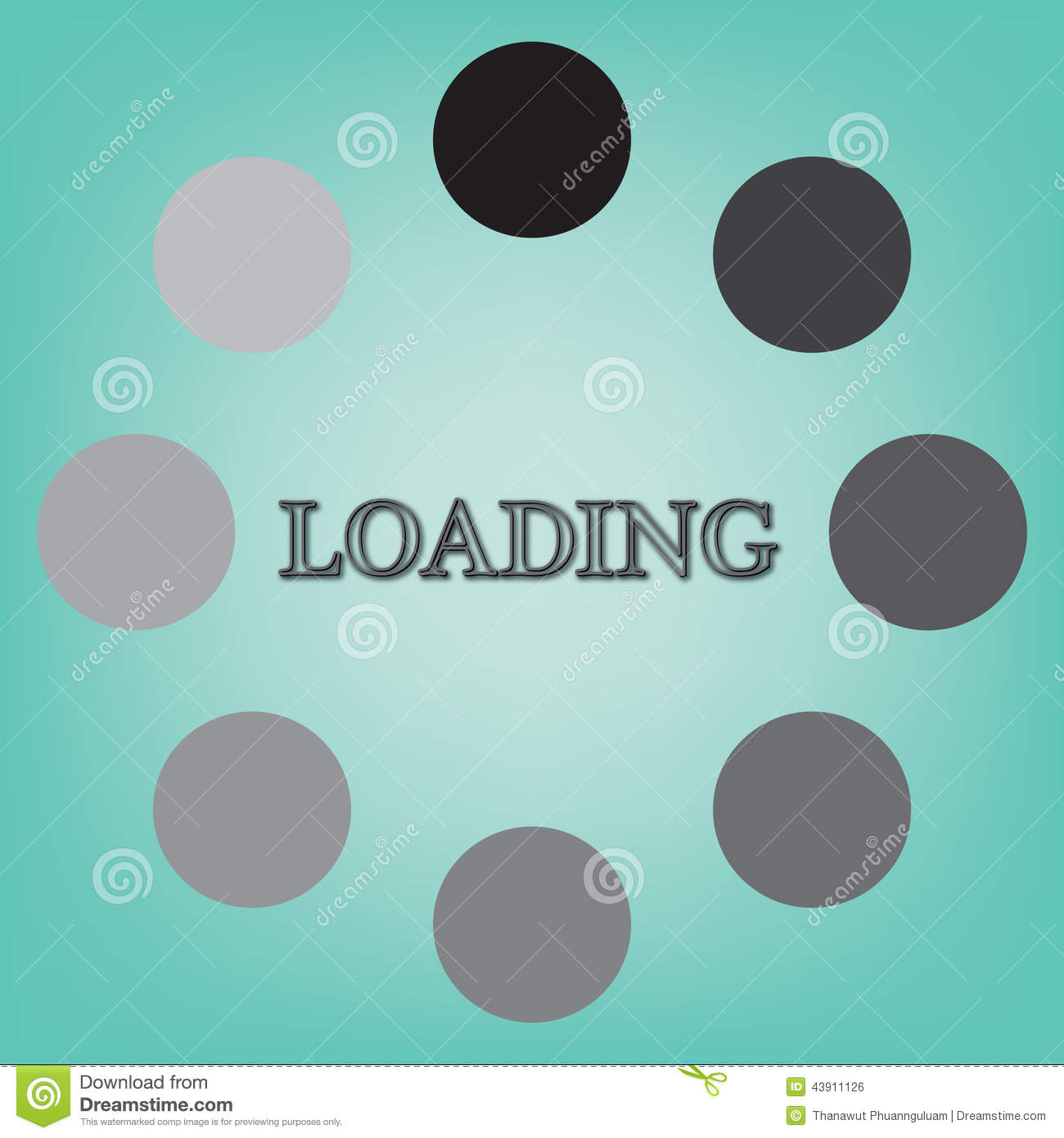 Abstract loading symbol on blue background stock illustration abstract loading symbol on blue background biocorpaavc Image collections