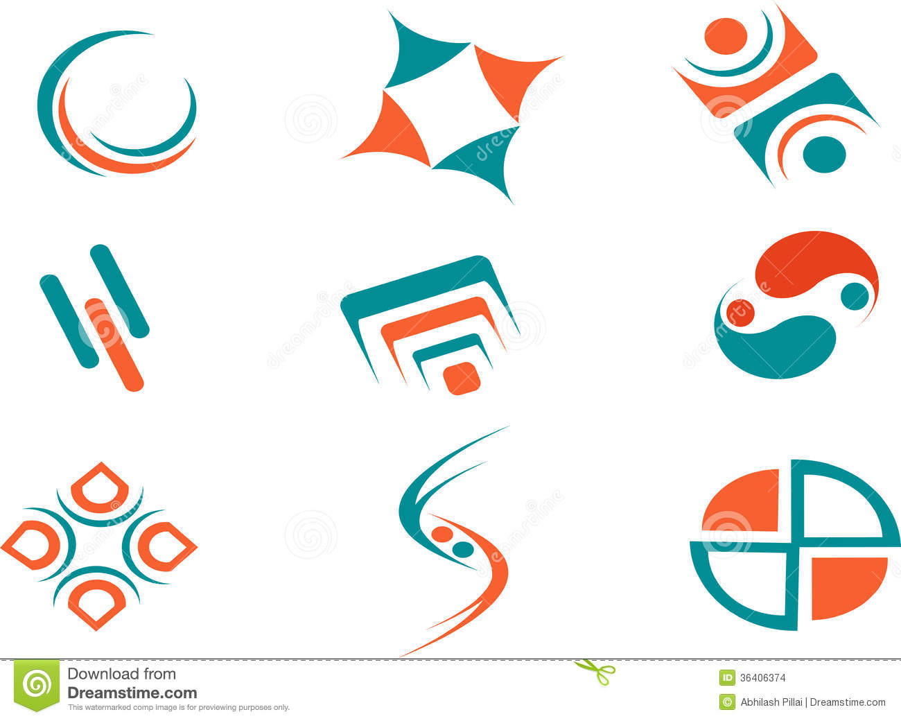 Publicidad Imagenes Abstractas: Abstract Logos For Websites Stock Images