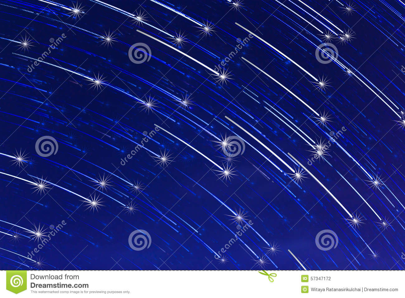 Abstract long exposure of star trails with sparkle on blue sky abstract long exposure of star trails with sparkle on blue sky background malvernweather Choice Image