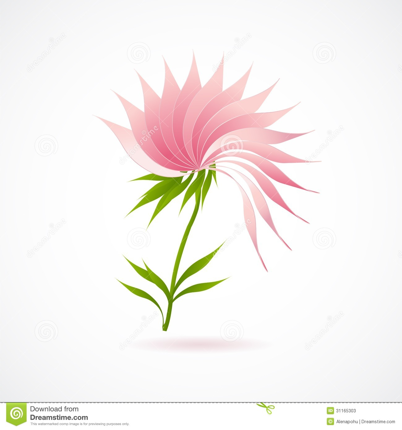 Abstract lotus flower icon isolated on white illustration 31165303 abstract lotus flower icon isolated on white illustration 31165303 megapixl mightylinksfo