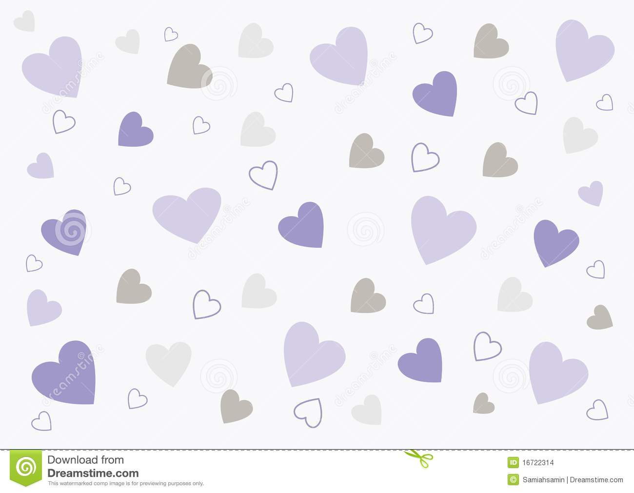 Abstract love background in soft purple and grey stock for Purple and grey wallpaper