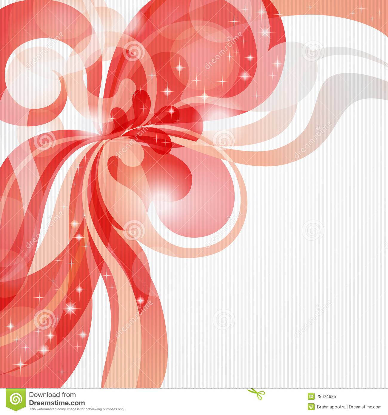Abstract love theme background in red tones stock vector for Love theme images
