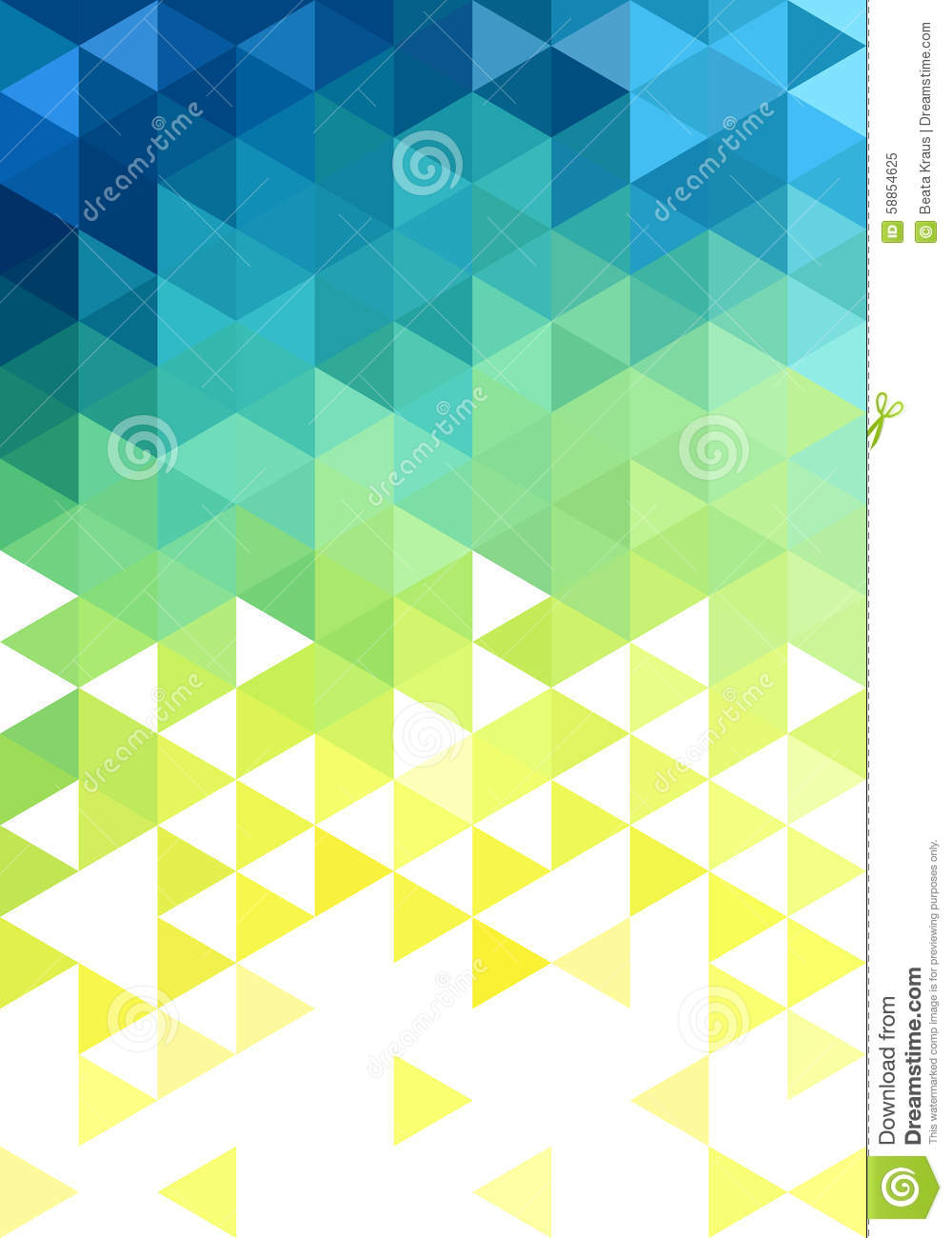 Abstract Low Poly Background, Vector Stock Vector - Image
