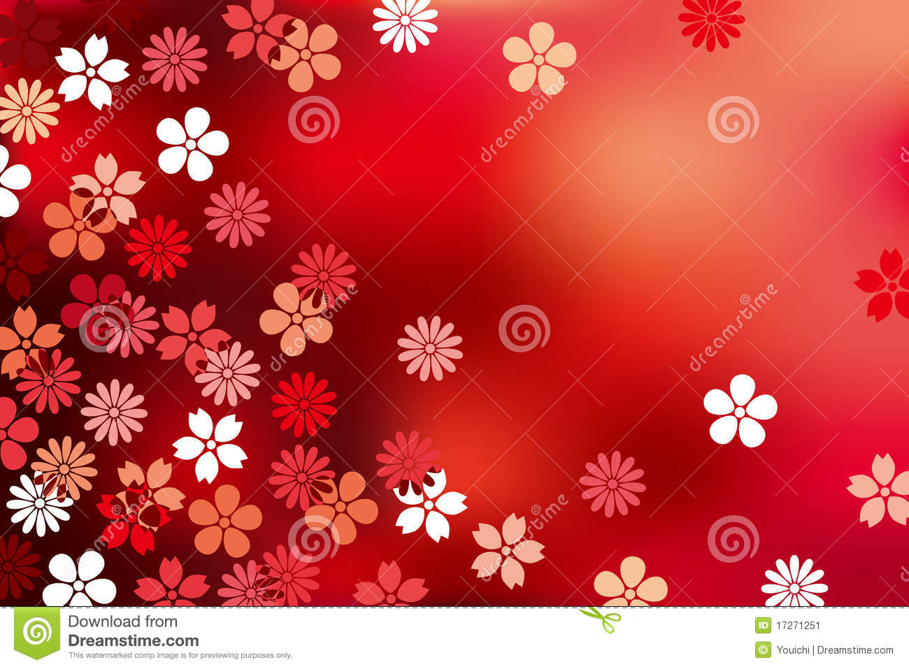 Abstract Luxury Blossom Background