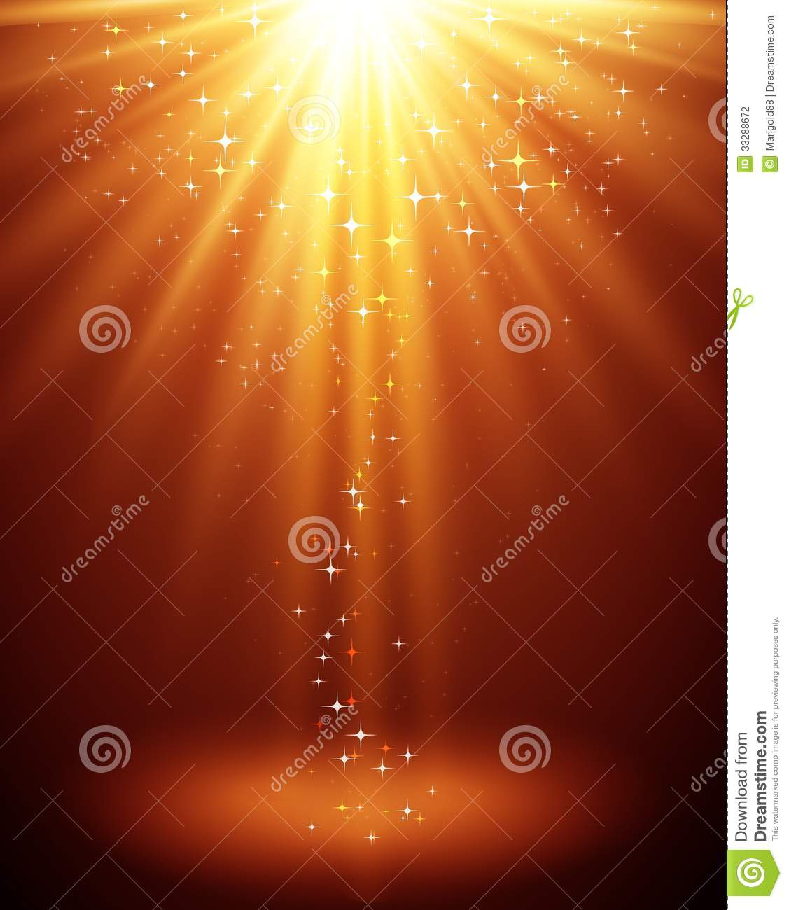 """Buy Stock Vector """"Abstract magic light background"""" 