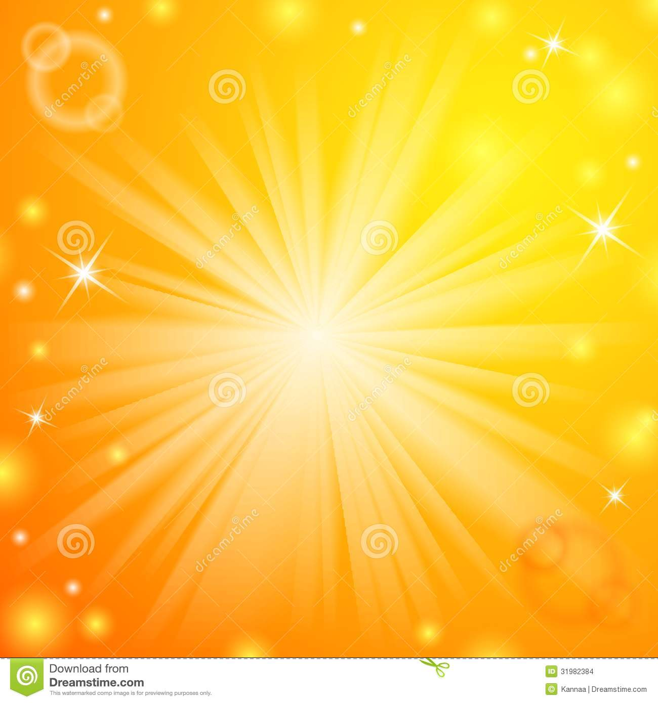 Abstract Magic Light Orange Background Stock Images ...