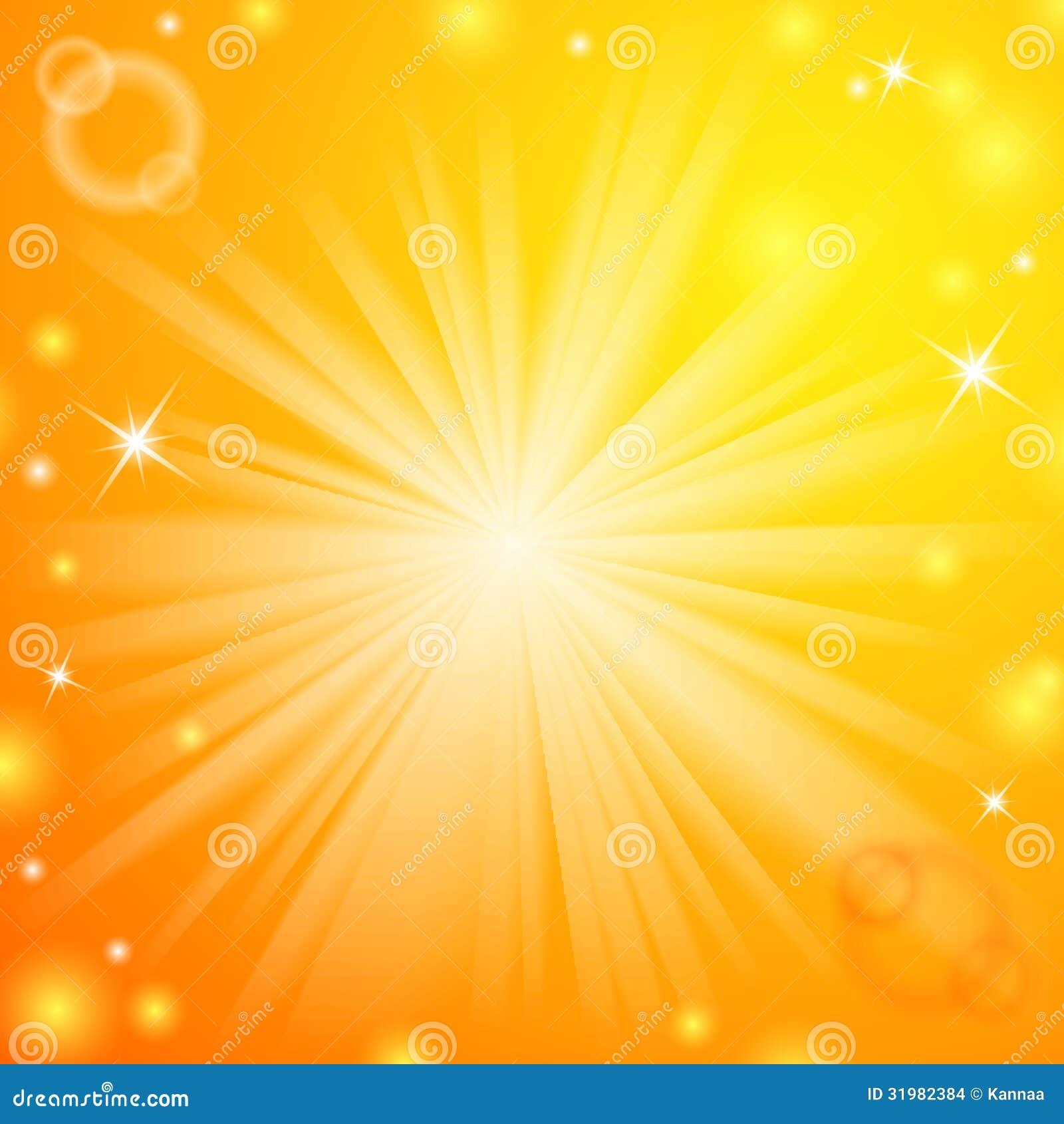 Abstract Magic Light Orange Background Stock Vector - Illustration ... for Light Orange Background Wallpaper  111bof