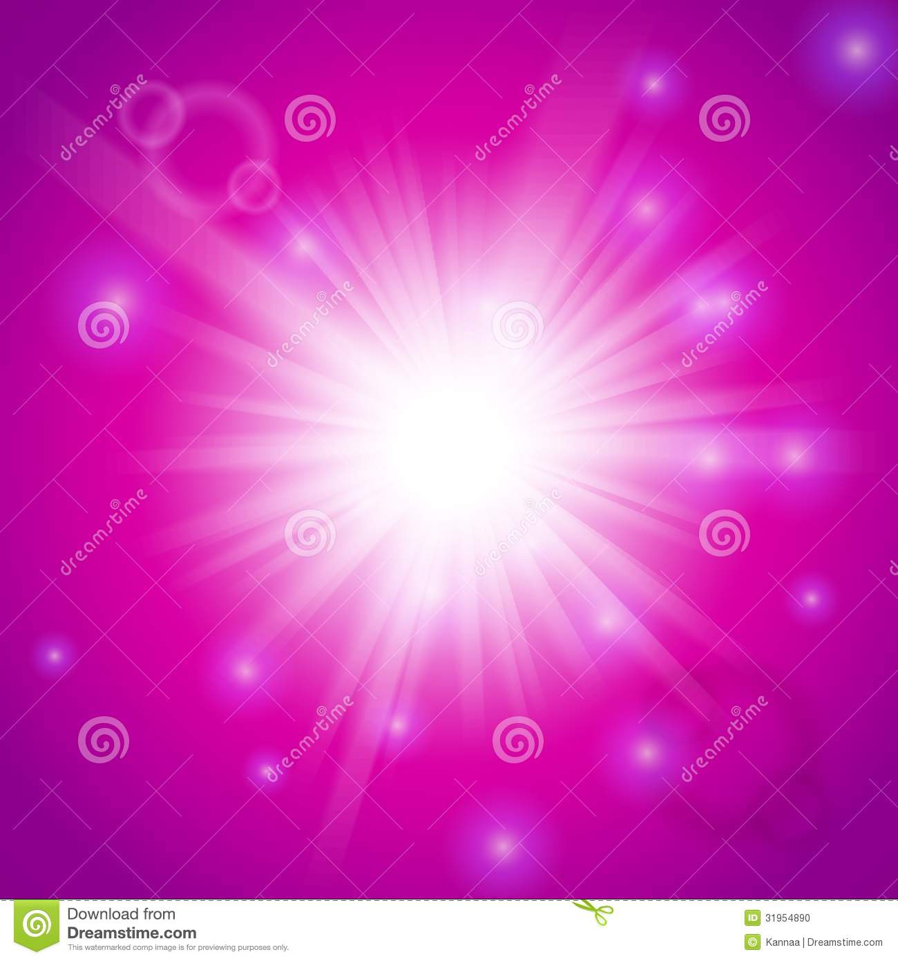Abstract Magic Light Pink Background Stock Photo