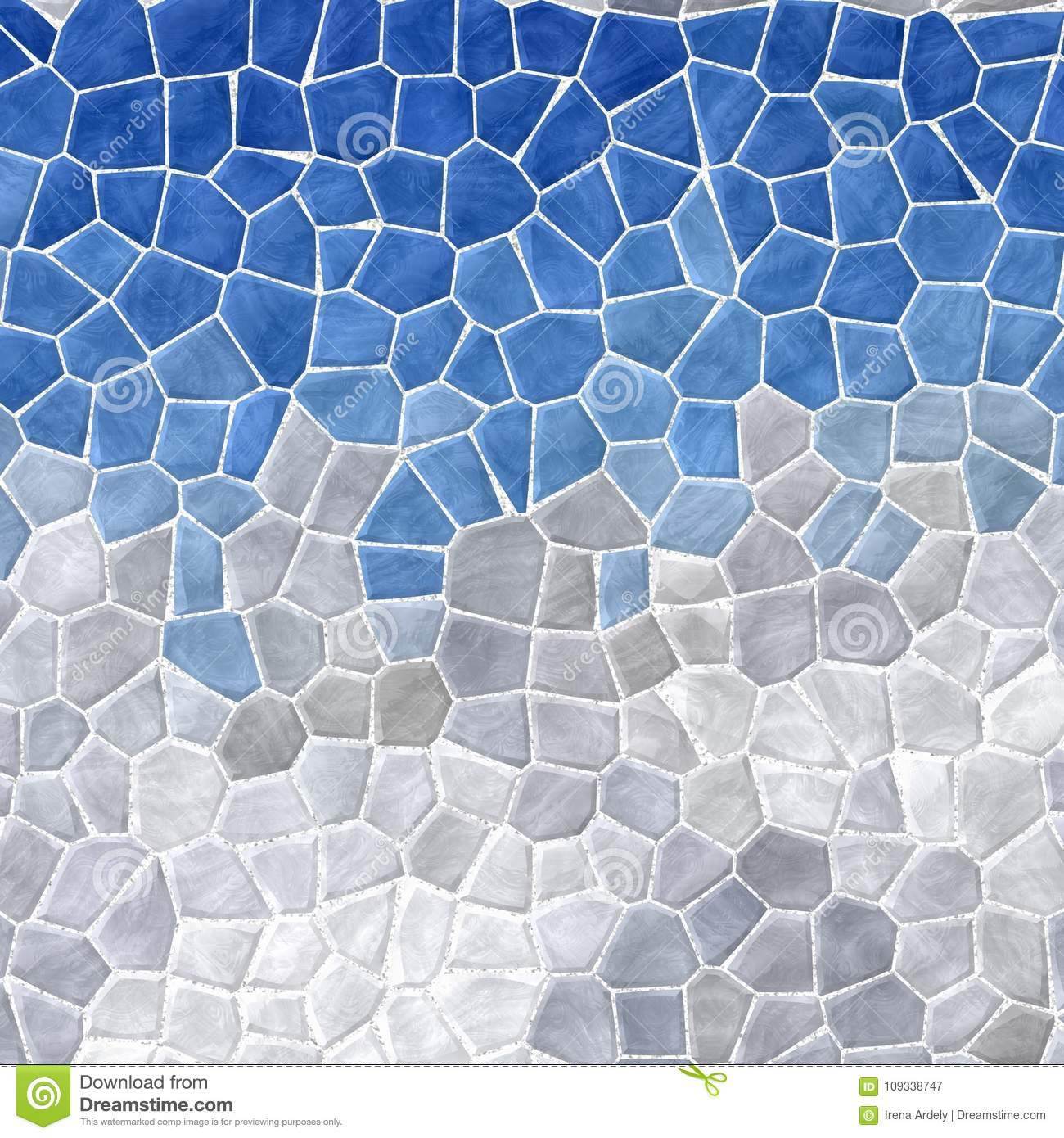 Abstract Marble Plastic Stony Mosaic Tiles Texture Background With