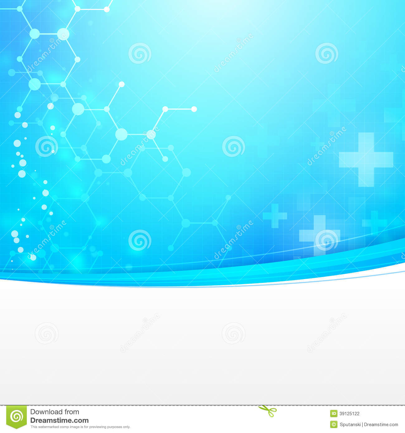 Abstract Medical Technology Background Stock Vector ...