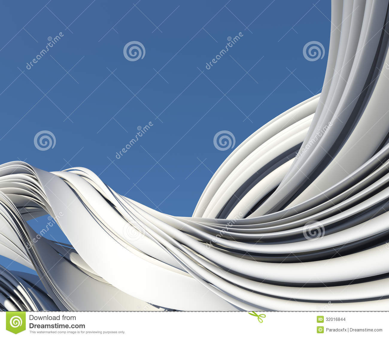 Abstract Modern Architecture Design Stock Images Image 32016844