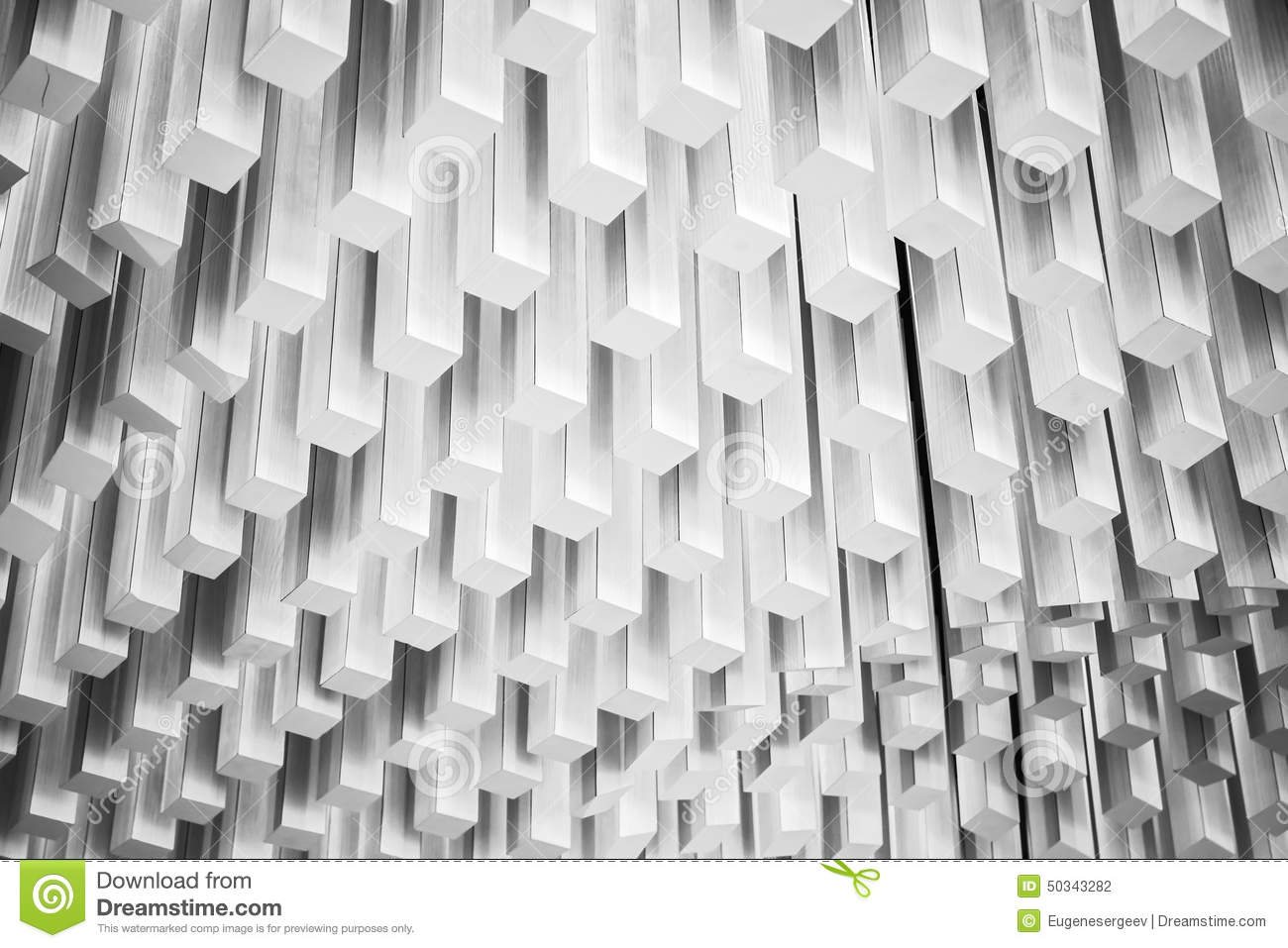Abstract Modern Architecture Fragment. White Design Stock Photo ...