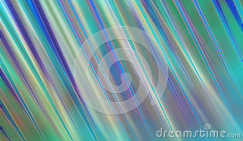 Abstract modern art background style design with blurred stripes of blue green yellow and purple