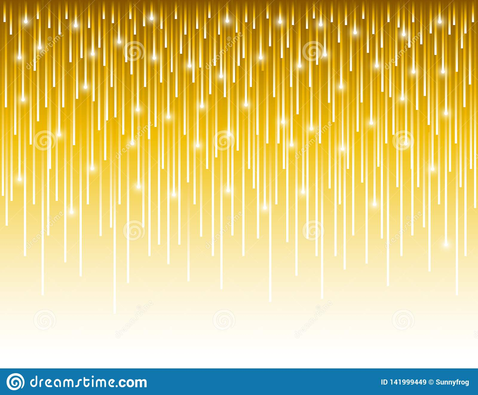 Abstract modern background with golden vertical lines. Backgrounds composed of glowing gold lines. Can be used for scrap booking,