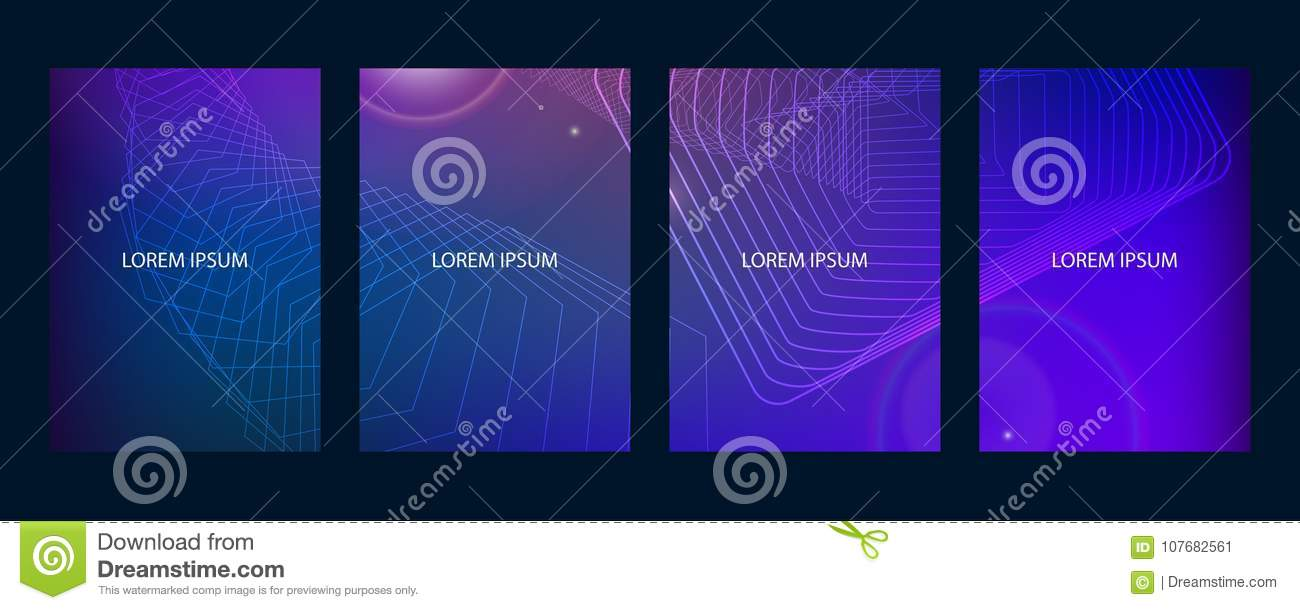 Abstract modern brochure,annual report, design templates, future Poster template design.