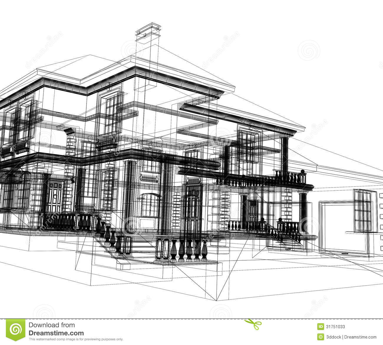 Abstract Modern Building Stock Photos - Image: 31751033