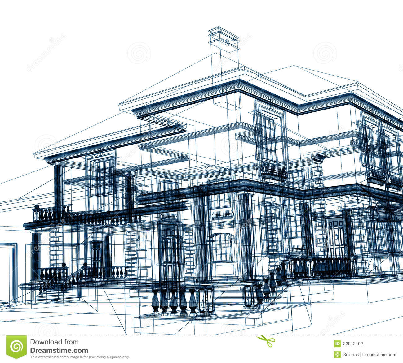 Abstract Modern Building Stock Photography - Image: 33812102