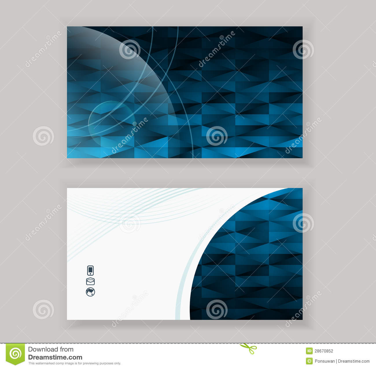 Abstract modern business card design template stock vector download abstract modern business card design template stock vector illustration of card abstract accmission Image collections
