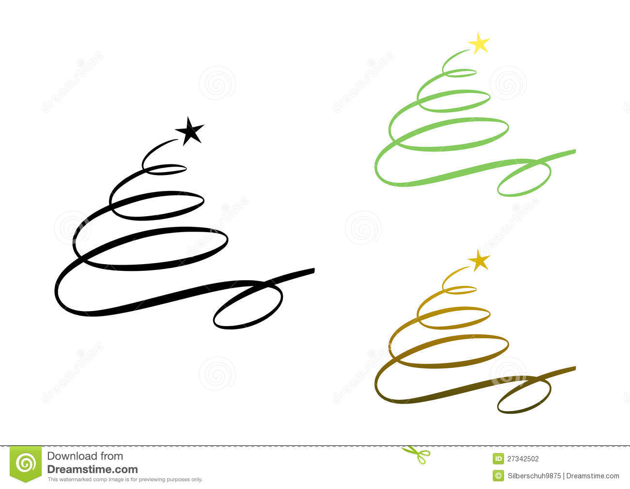 abstract modern christmas tree  set  stock photography image 27342502 clip art merry christmas brother and family clipart merry christmas candle