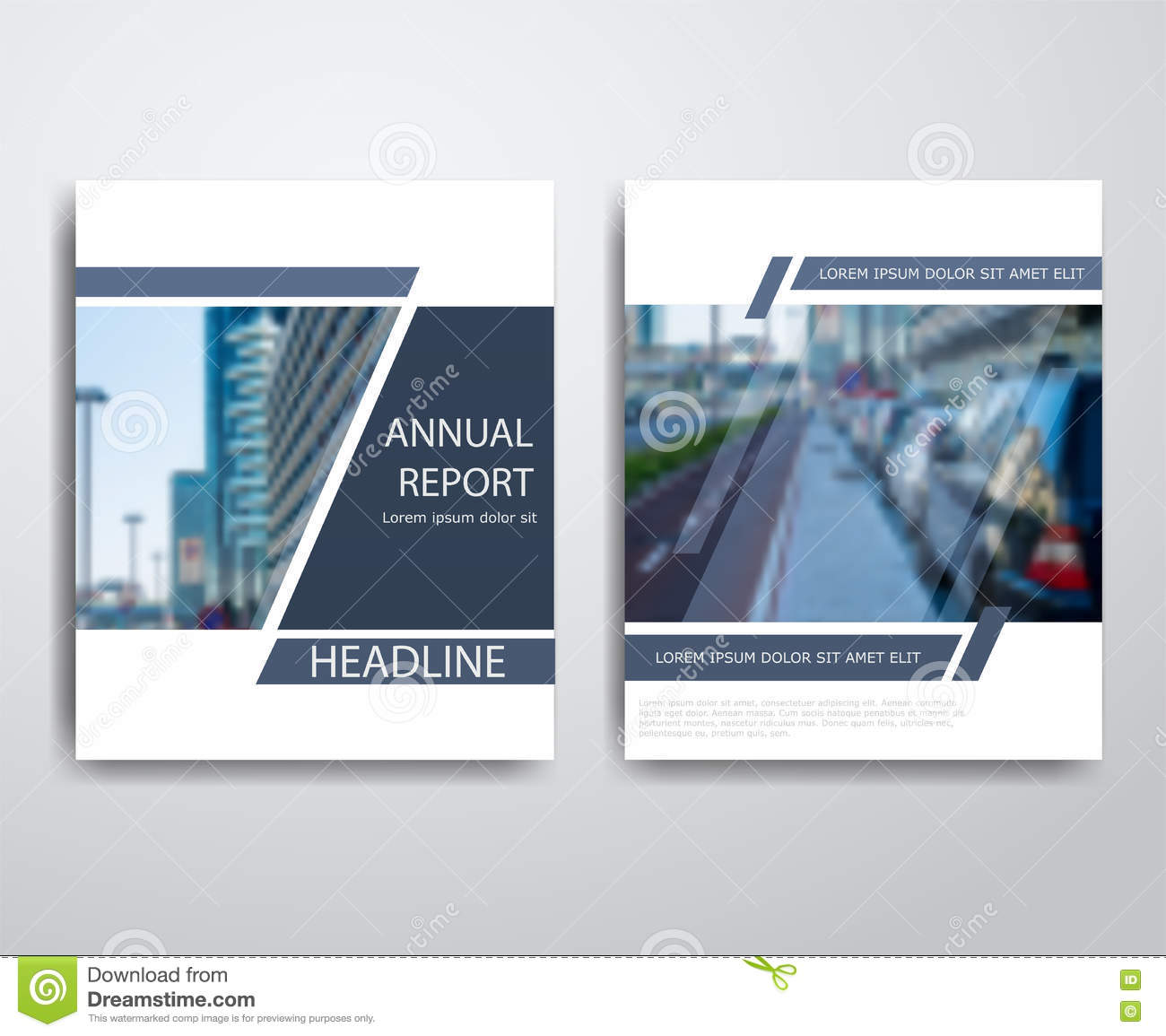 Modern Book Cover Design Template : Abstract modern flyers brochure annual report design