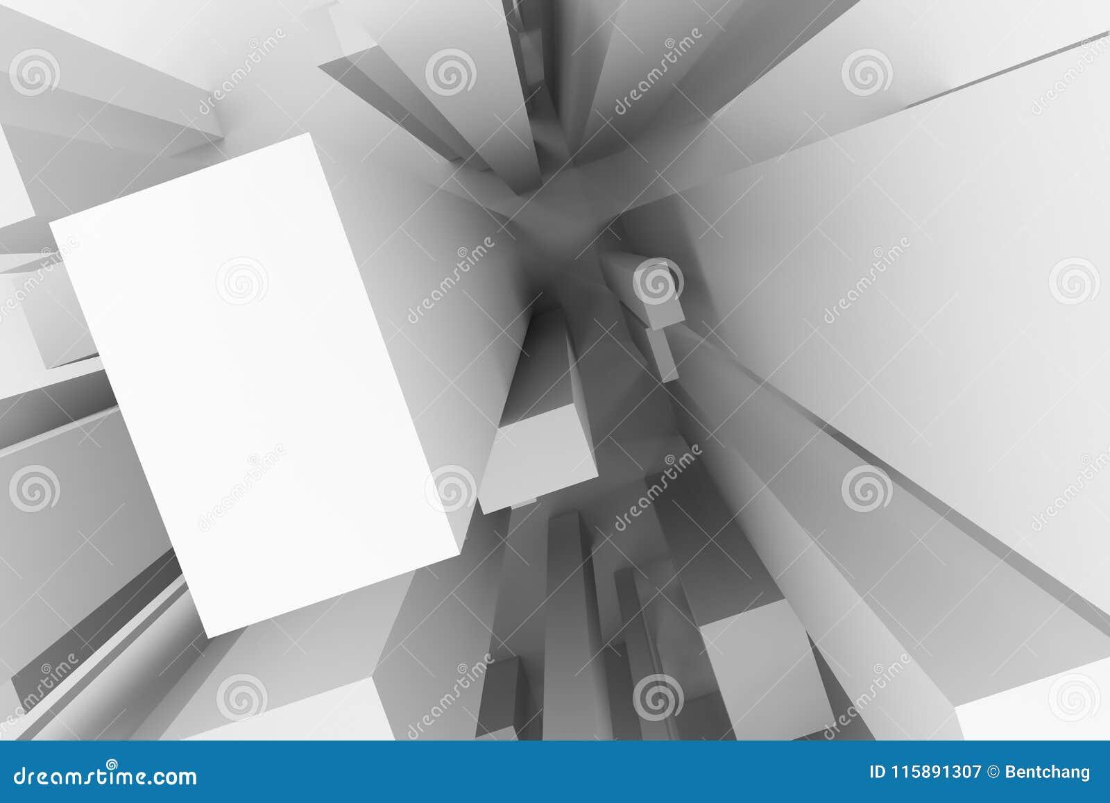 Abstract Modern Pillar Style Soft White Gray Background Pattern Artwork Wallpaper