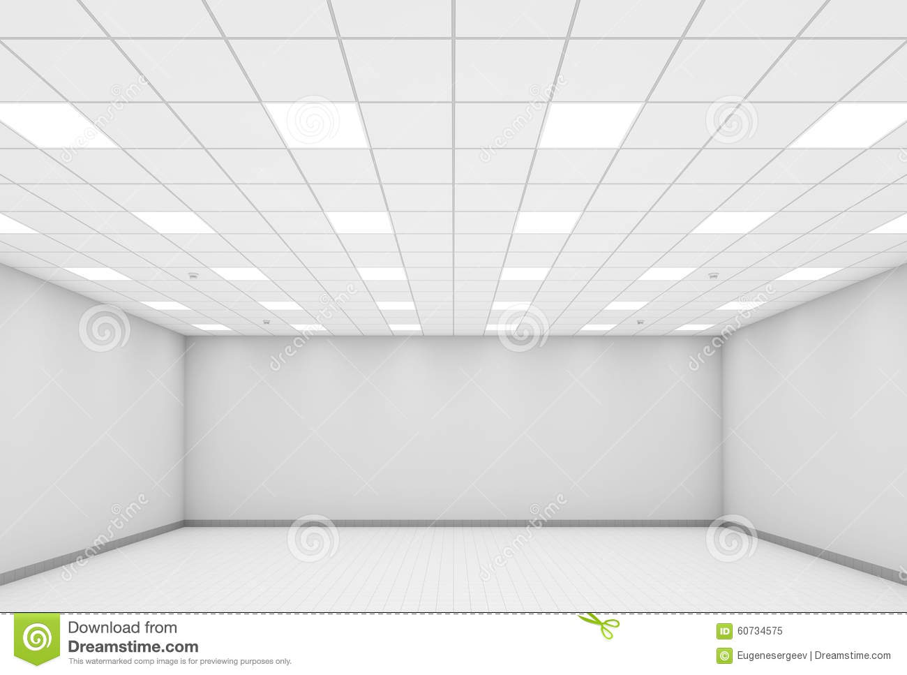 white office interior. Abstract Modern White Office Interior Background 3d D