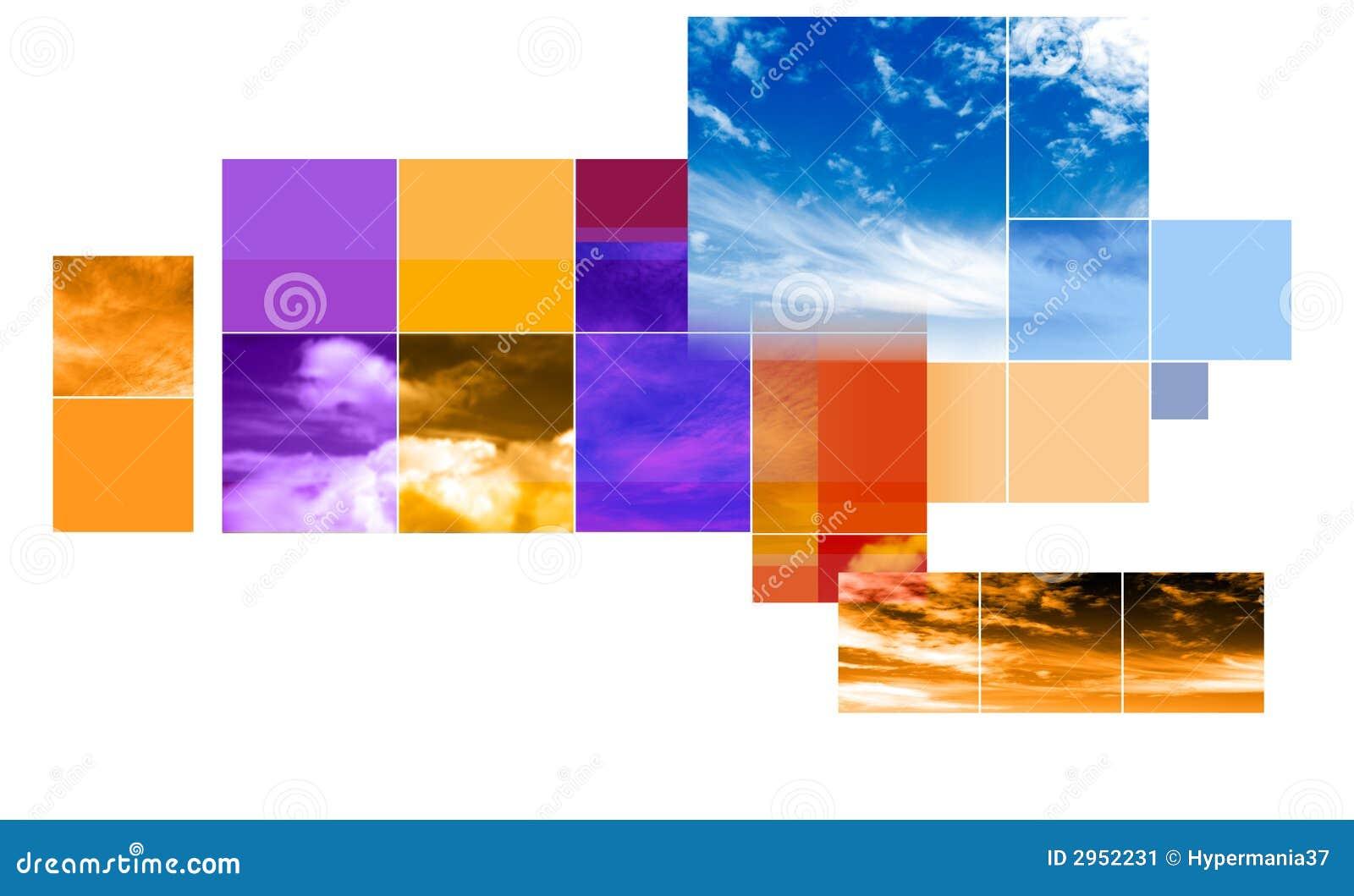 abstract montage design stock illustration illustration of