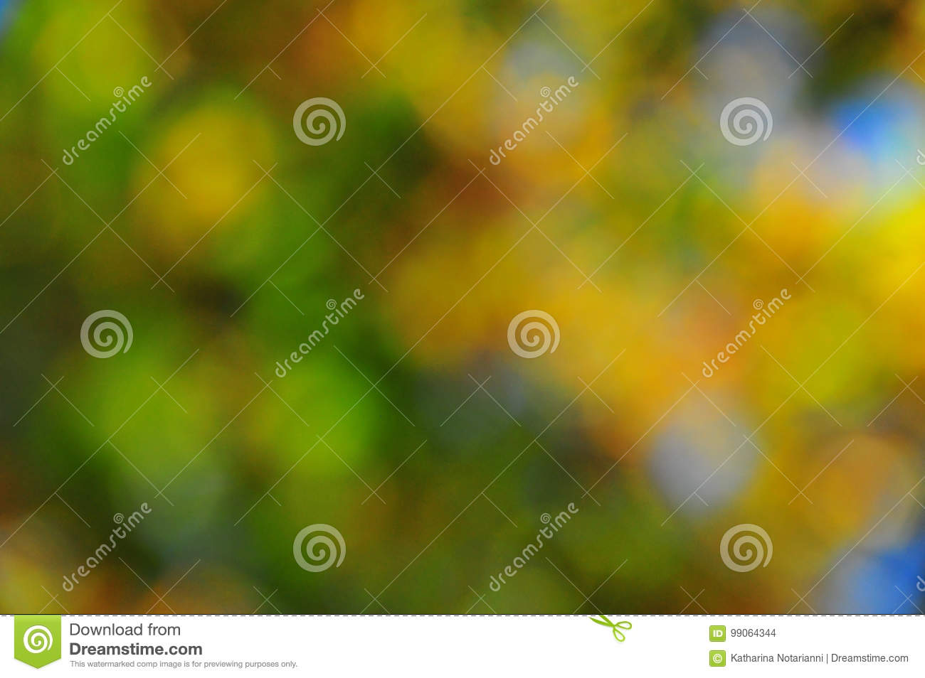 Abstract Mood Background in Brown Green Gold and Blue
