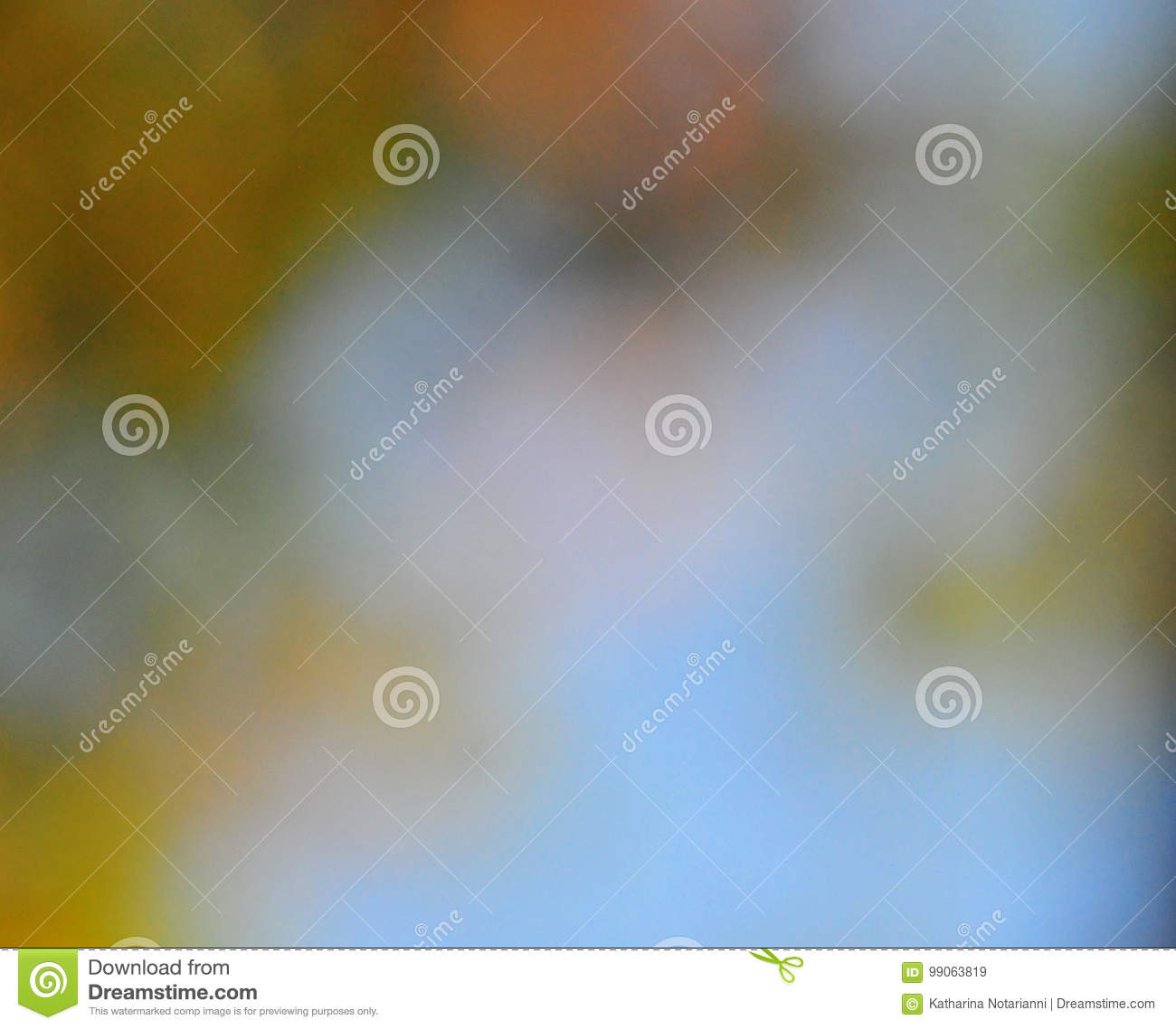 Abstract Mood Background in Brown Green and Blue