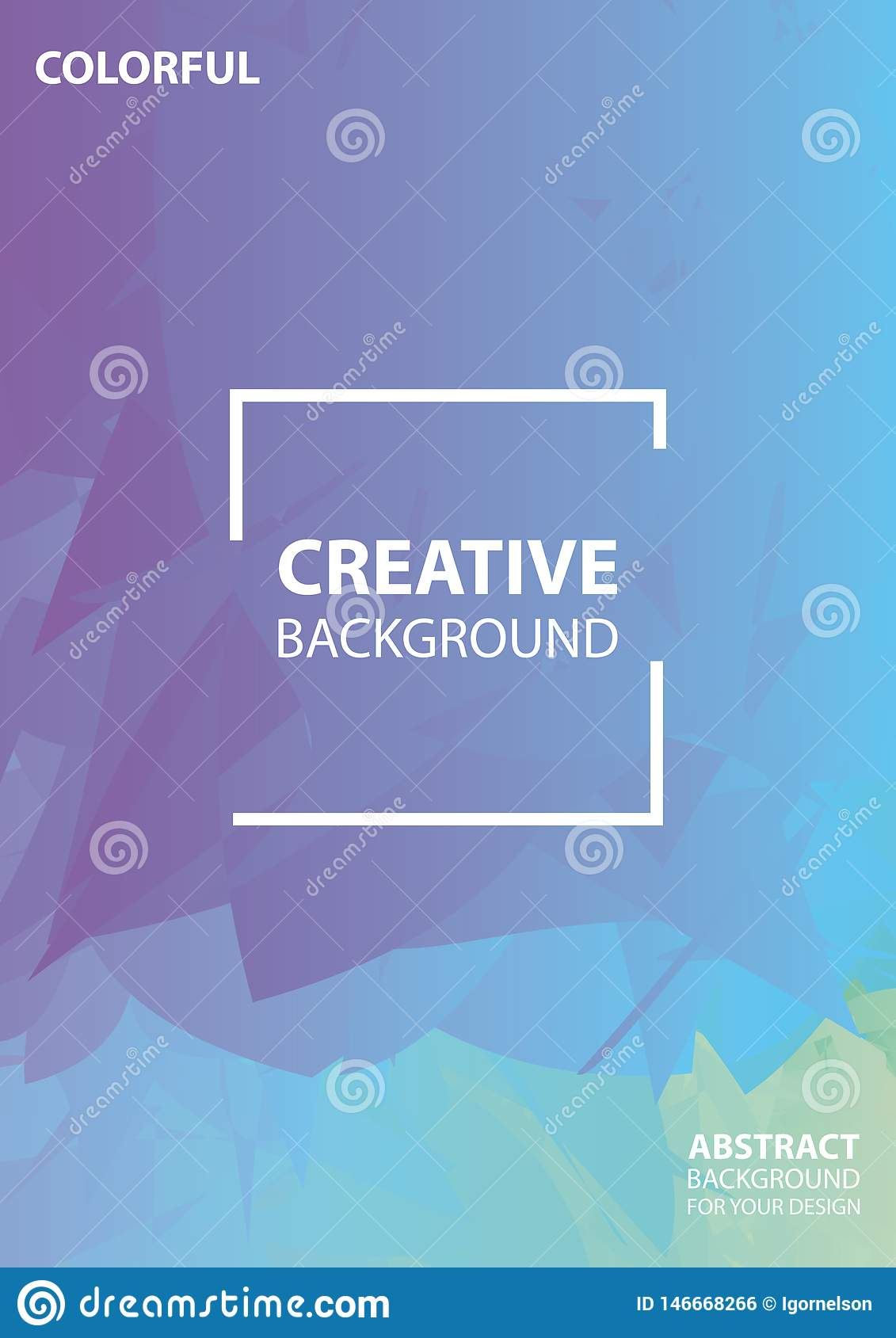 Abstract mosaic cover design. Creative background . Vector illustration design