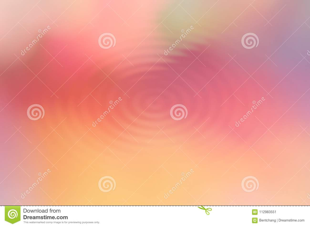Abstract motion generative design art background. Blur, artwork, red, beauty & yellow.