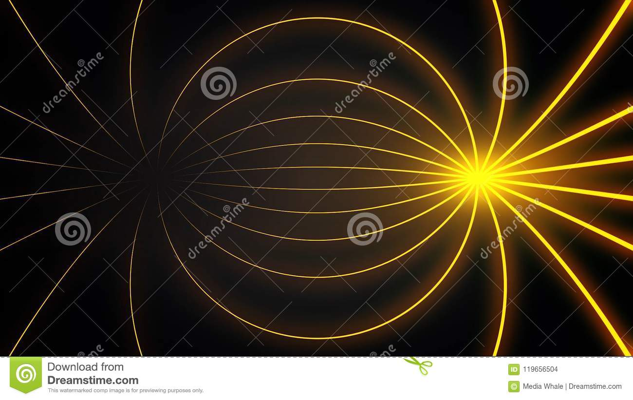 Abstract Motion Graphics With Colored Spiral Parametric Futuristic Space Background Fantastic